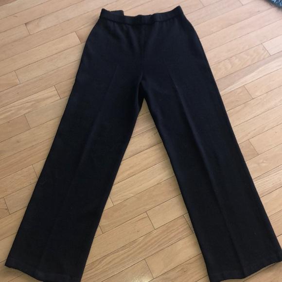 ae89c8aed8f6c St. John Pants   Sale Black St John Basic Knit Size 8   Poshmark